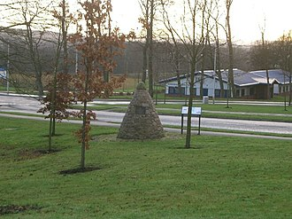 Battle of Inverkeithing - Memorial cairn to Sir Hector Maclean of Duart and his clansmen who were killed at the Battle of Inverkeithing