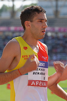 Men 3000 m steeple French Athletics Championships 2013 t172003.jpg