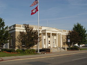 Mena City Hall - Image: Mena City Hall ( Former Post Office)