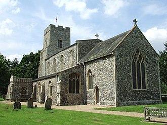Mendham, Suffolk - Image: Mendham Church of All Saints