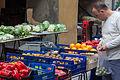 Mercado na rúa. La Seu d'Urgell. Cataluña C04.jpg