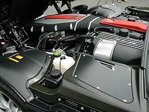 Mercedes-Benz M113 engine - Image: Mercedes Benz SLR Mc Laren engine