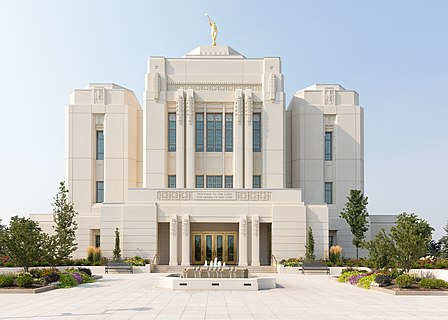 Temple of The Church of Jesus Christ of Latter-day Saints in Meridian, Idaho.