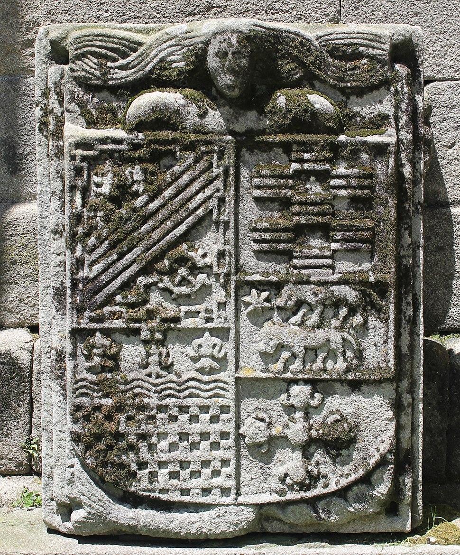 Mermaid in Santo Domingo church (Pontevedra, Galicia)