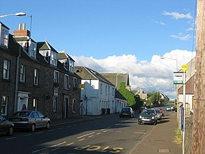 Methven, Perth and Kinross - Near the centre of Methven