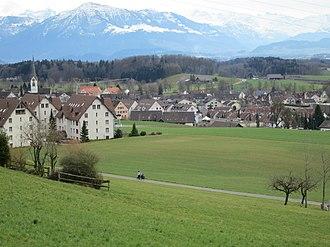 Mettmenstetten - Image: Mettmenstetten Langacher