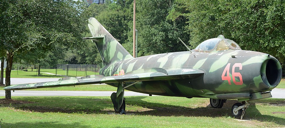 MiG 17 at Mighty 8th Air Force Museum, Pooler, GA, US