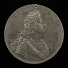Louis XIV, 1638-1715, King of France 1643 [obverse]