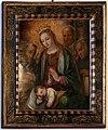 Michele tosini (attr.), adorazione del bambino con santi domenicani, 01.jpg