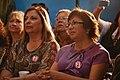Michelle Bachelet participa en un encuentro con dirigentes sociales y vecinales de Puente Alto. (8657371319).jpg