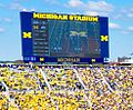 Michigan Stadium Sept 17,2011 (scoreboard).jpg
