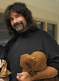 Mick Foley American actor, author and professional wrestler