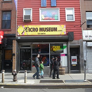 Boerum Hill - Micro Museum, 123 Smith St