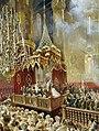 Mihály Zichy - Coronation of Alexander II (1857, Hermitage) detail 01.jpg