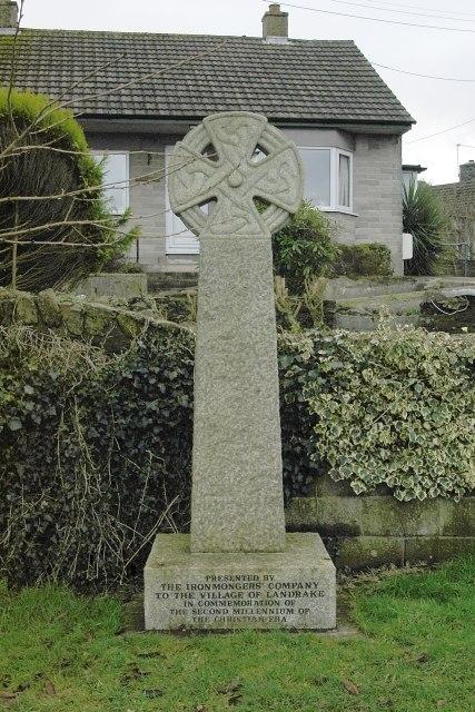Millennium Cross, Landrake - geograph.org.uk - 99003