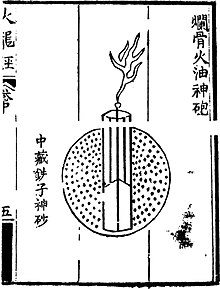 list of chinese inventions wikipedia  an accurate diagram of ancient chinese firework #4