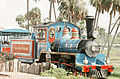 Miniature train at Busch Gardens, Tampa, Florida, 1972 (1 of 2).jpg