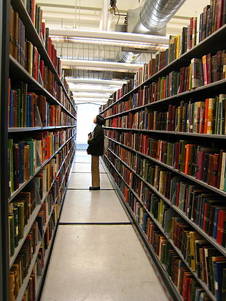 Minneapolis Public Library - Periodical stacks at the Central Library