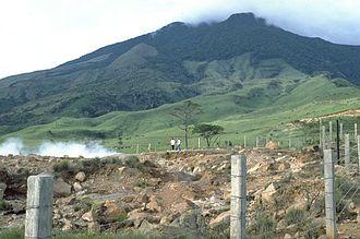 Miravalles Volcano - Miravalles Volcano in 1988
