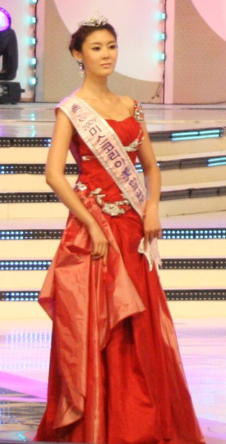 Miss Korea 2009 - 2009 Miss Korea Mi Choi Ji-hee.