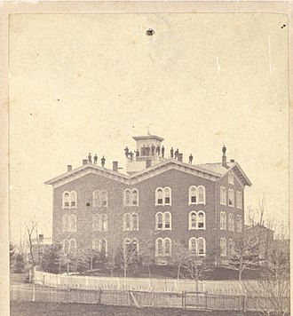 Susquehanna University - The Missionary Institute's first building. It is now known as Selinsgrove Hall.