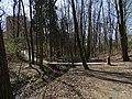 Modřany, Píšovický les, lávka přes Lhotecký potok (01).jpg