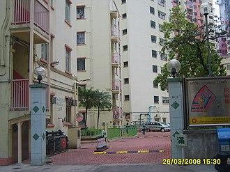 Model Housing Estate - Entry of Model Housing Estate