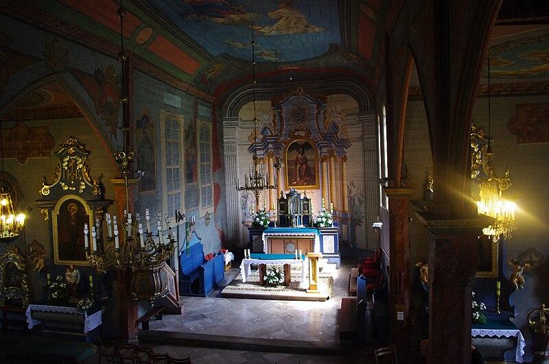 Une des dernières églises en bois de Cracovie se trouve à Nowa Huta : Eglise św.Bartłmieja. Photo de Jacek555 (Jacek Plewa)