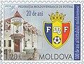 Moldova 2010-04-14 stamp - Centenary of Moldavian Football.jpg