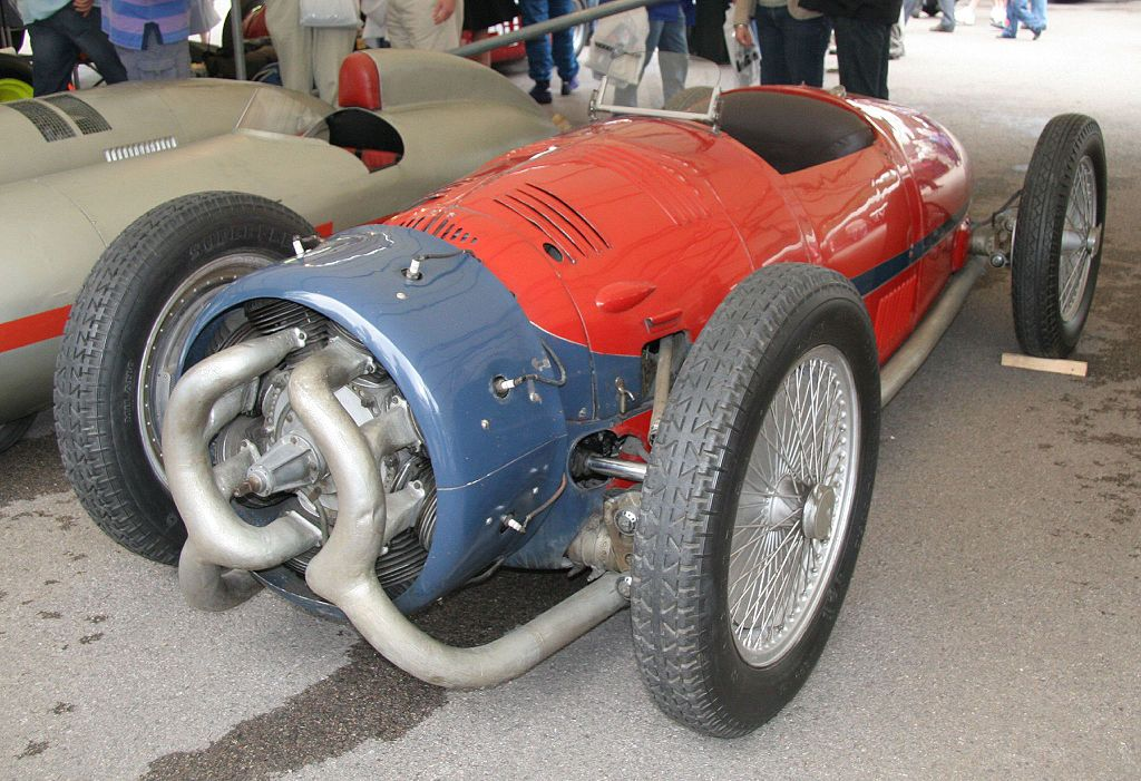 Cool Race Car With A Radial Engine Cars