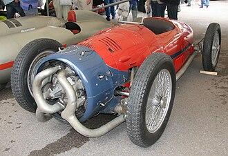 Carlo Felice Trossi - The 1935 Trossi-Monaco, usually on display at the Museo Nazionale dell'Automobile