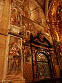 Monasterio de Santa María de Huerta - Frescos del ábside mayor 02.jpg