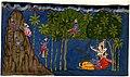 Monkeys plunder the Honey Grove on Hanuman's return from Lanka..jpg