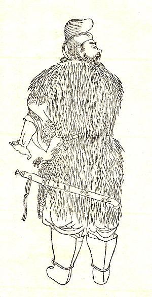 Mononobe no Moriya - Mononobe no Moriya by Kikuchi Yōsai