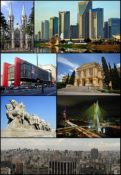 Photos of various famous places in the city.