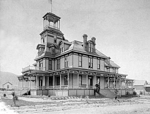 Sunland-Tujunga, Los Angeles - Monte Vista Hotel, 1880s