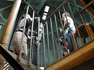 An interview in the Montebello Observatory in ...
