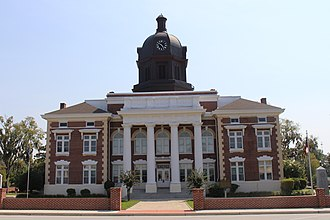Montgomery County, Georgia - Image: Montgomery County Courthouse (Mount Vernon, Georgia)