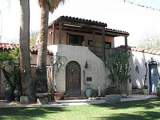 """Moorten Botanical Garden and Cactarium - The Moorten residence, known as """"The Cactus Castle"""", at the garden"""