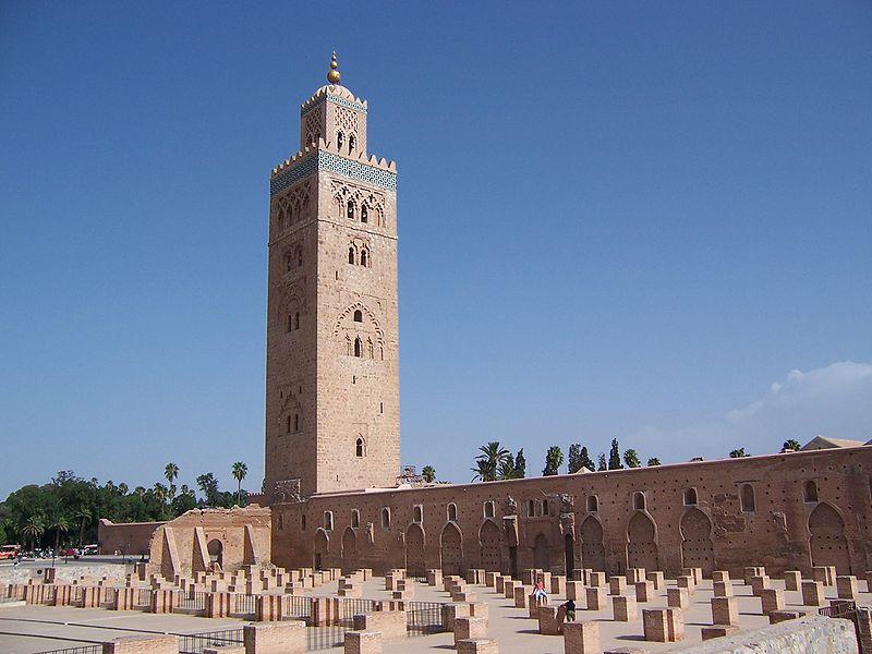 Mezquita de la Kutubía de Marrakech.