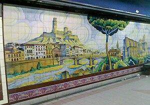 Lavalle (Buenos Aires Underground) - Image: Mosaico Subte Lavalle 1