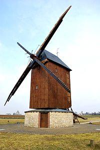 Moulin à vent du Paradis, Sancheville, Eure-et-Loir, Centre, France.JPG