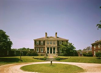 John Tayloe II - Mount Airy Plantation House, Virginia
