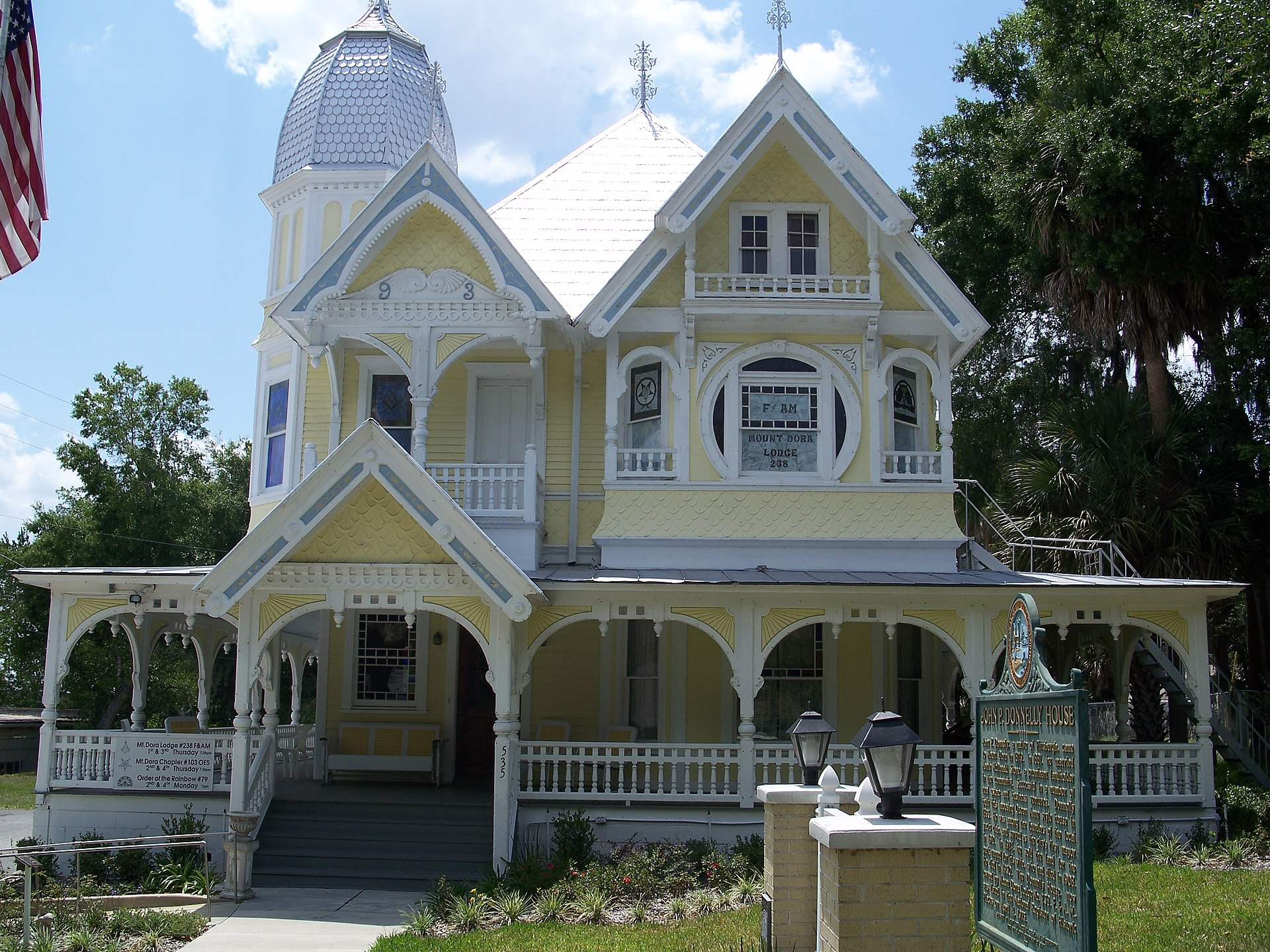 donnelly house mount dora florida wikipedia