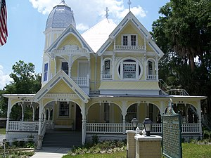 National Register of Historic Places listings in Lake County, Florida - Image: Mount Dora Donnelly House 01