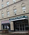 Mountaineer Hotel; Williamson, West Virginia; brick details at cornice line.JPG
