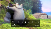 Mpv playing Big Buck Bunny.png
