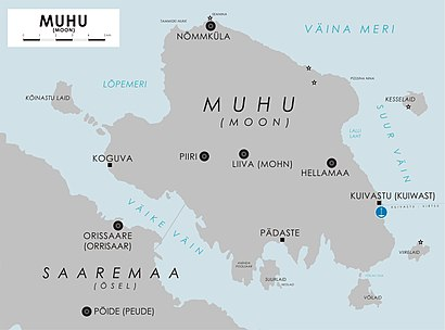 How to get to Muhu Saar with public transit - About the place