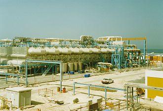 Multi-stage flash distillation - MSF Desalination Plant at Jebel Ali G Station, Dubai