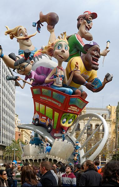 Las Fallas  Cultures and Customs